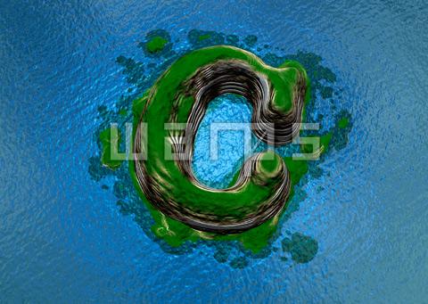 緑の森の島(C)