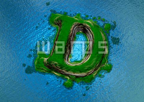 緑の森の島(D)