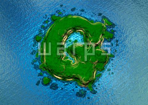 緑の森の島(G)