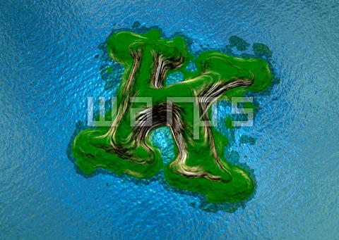 緑の森の島(K)